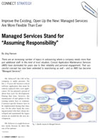 "Consist Managed Services stand for ""Assuming Responsibility"""
