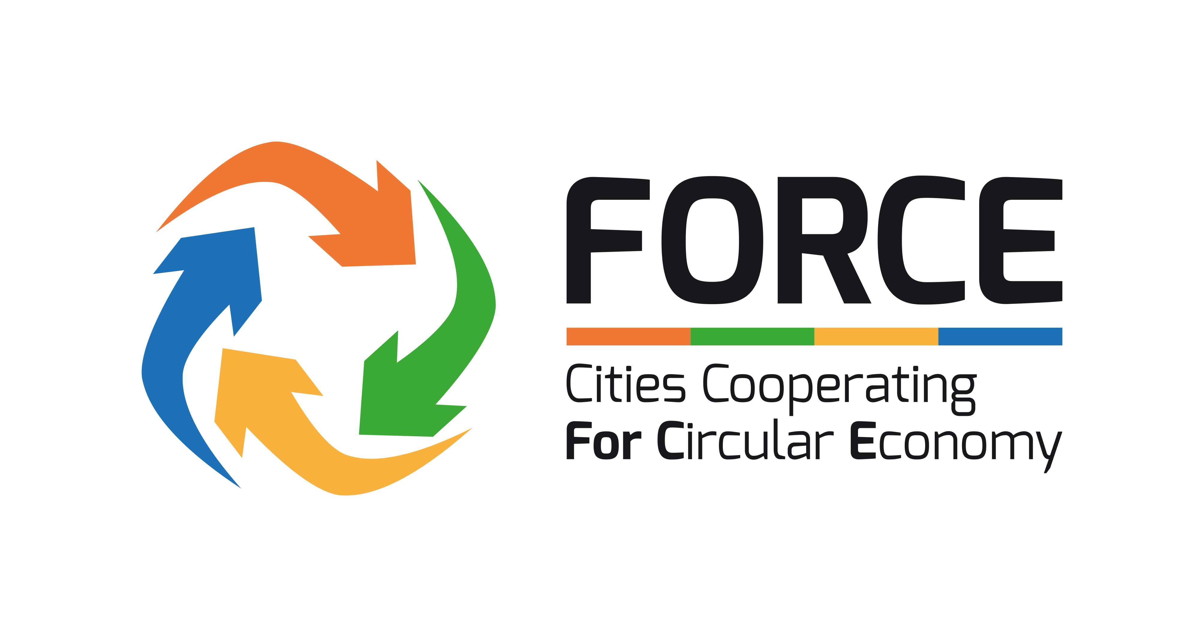 Logo of FORCE, Source: cities cooperating FOR Circular Economy |  © FORCE Consortium